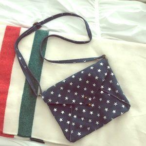 FP suede star purse!